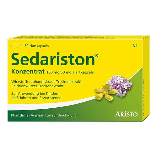 Sedariston Konzentrat Hartkapseln - 1