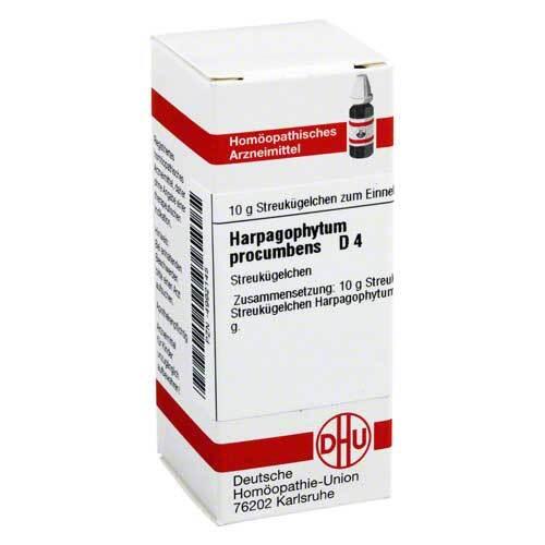 DHU Harpagophytum procumbens D 4 Globuli - 1