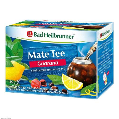 Bad Heilbrunner Tee Guarana Mate Kräuterpower - 1