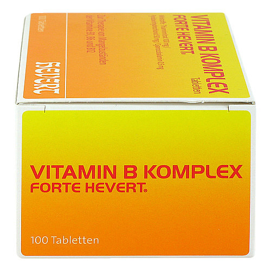 Vitamin B Komplex forte Hevert Tabletten - 4