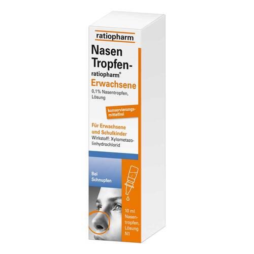 Nasentropfen ratiopharm Erwachsene - 1
