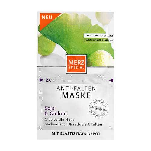 Merz Spezial Anti Falten Maske Soja + Ginkgo - 1