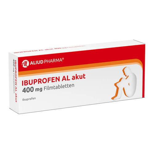 Ibuprofen AL akut 400 mg Filmtabletten - 1