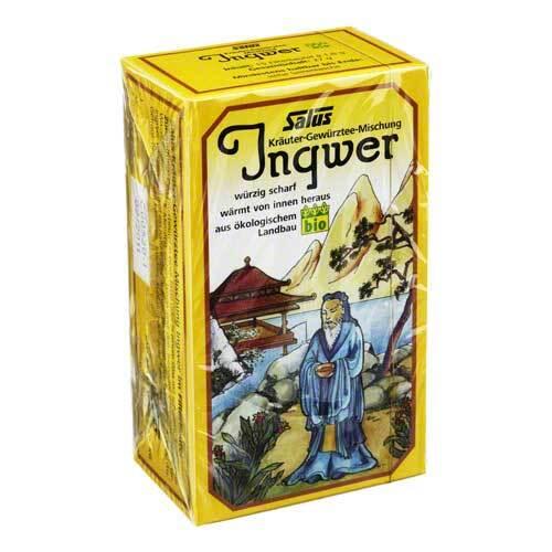 Ingwer Kräuter Gewürztee Salus - 1