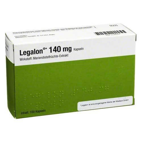 Legalon 140 mg Kapseln - 1