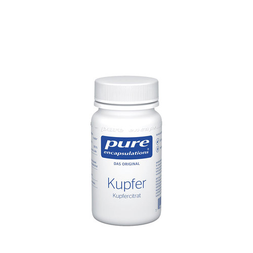 Pure Encapsulations Kupfer Kupfercitrat Kapseln - 1
