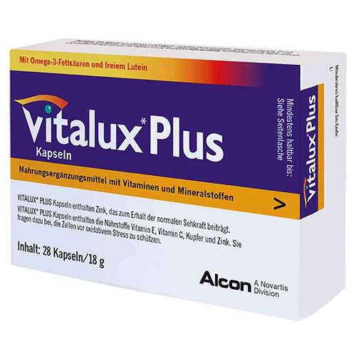 Vitalux Plus Lutein und Omega 3 - 1