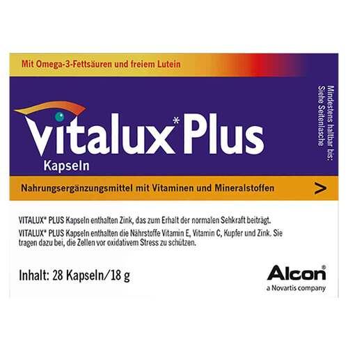 Vitalux Plus Lutein und Omega 3 - 2