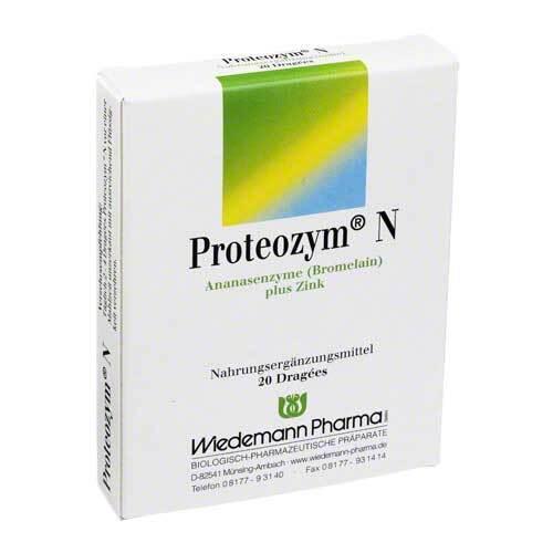 Proteozym N Dragees - 1