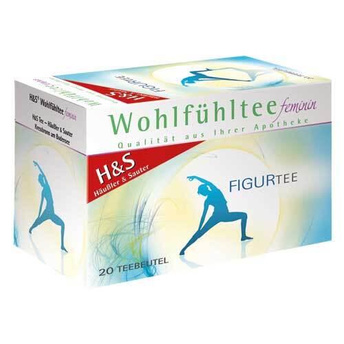 H&S Wohlfühltee feminin Figurtee Filterbeutel - 1