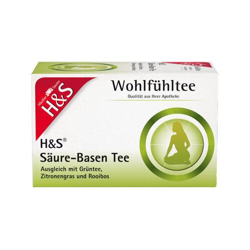 H&S Wohlfühltee feminin Säuren-Basentee Filterbeutel - 1