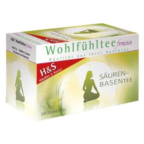 H&S Wohlfühltee feminin Säuren-Basentee Filterbeutel - 2