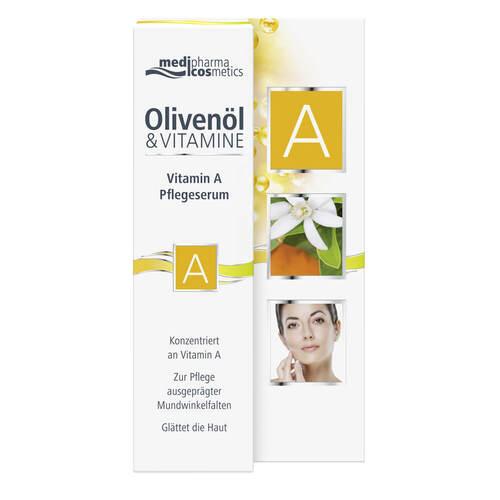 Olivenöl & Vitamin A Pflegeserum - 1