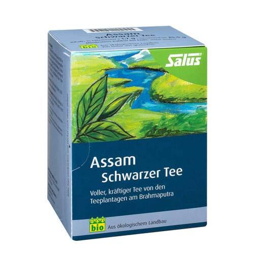 Assam Schwarzer Tee bio Salus Filterbeutel - 1