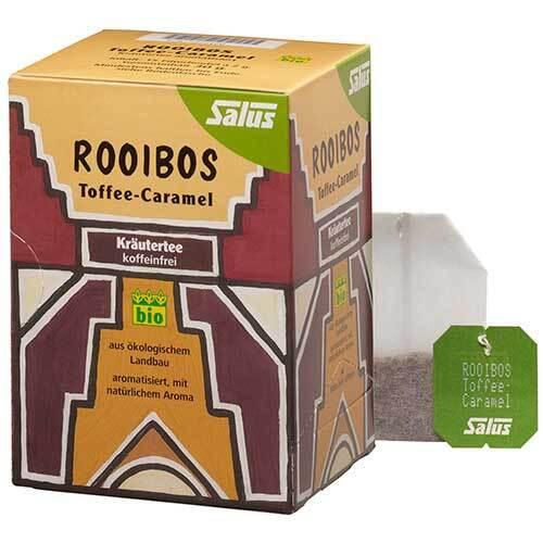 Rooibos Toffee-Caramel Kräutertee bio Salus - 1