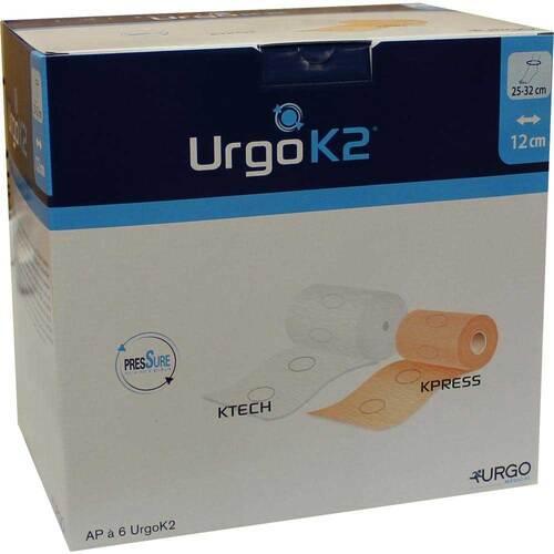 Urgo K2 Kompresse Syst.Knöchelumf.25 - 32cm 12cm br. - 1