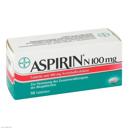 Aspirin N 100 mg Tabletten - 1