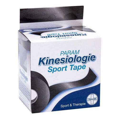 Kinesiologie Sport Tape 5 cm x 5 m schwarz - 1