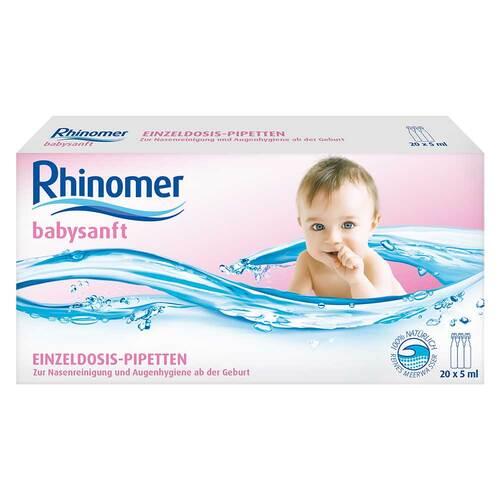Rhinomer babysanft Meerwasser 5ml Einzeldosispipette - 1