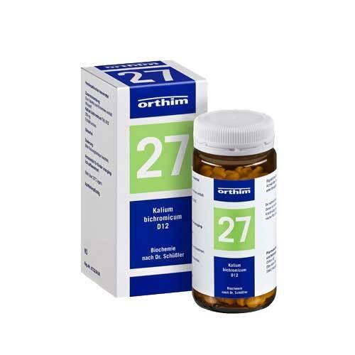 Biochemie Orthim 27 Kalium bichromicum D 12 Tabletten - 1
