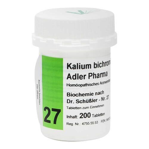 Biochemie Adler 27 Kalium bichr.D12 Ad.P. Tabletten - 1