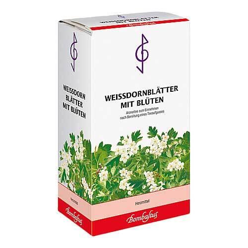 Weissdorn Blätter mit Blüten Tee - 1
