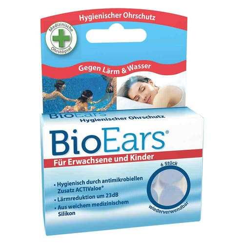 Bioears Silikon Ohrstöpsel antimikrobielle - 1