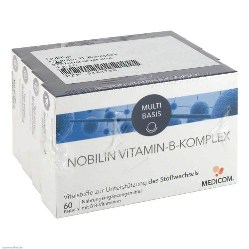 Nobilin Vitamin-B-Komplex Kapseln - 1