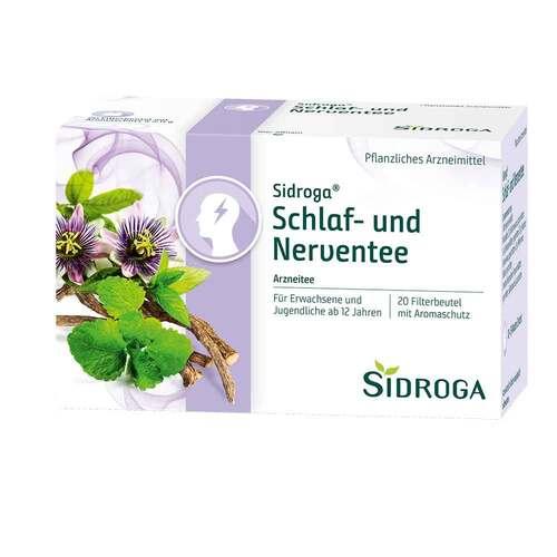 Sidroga Schlaf- und Nerventee Filterbeutel - 1