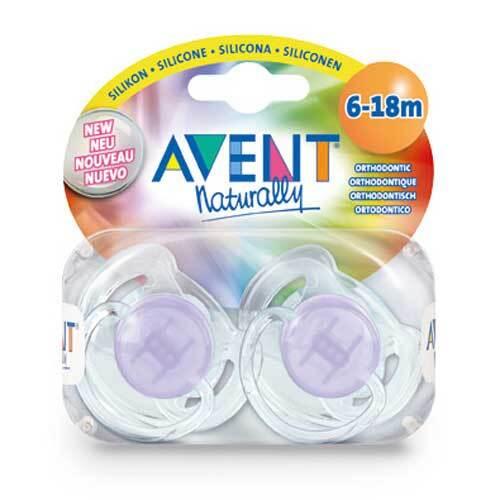 Avent Schnuller durchsichtig 6 - 18 Mon.BPA-frei - 1