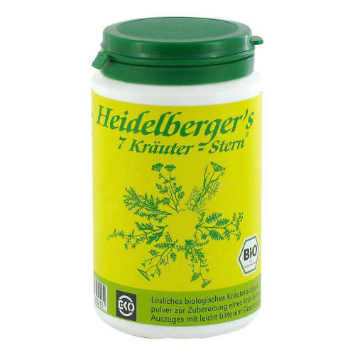 Bio Heidelbergers 7 Kräuter Stern Tee - 1