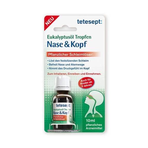 Tetesept Eukalyptusöl Tropfen Nase & Kopf - 1