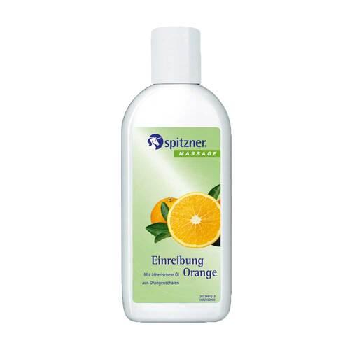 Spitzner Massage Einreibung Orange - 1