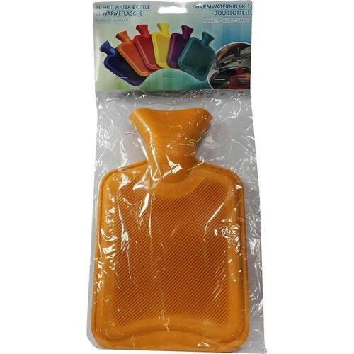 Wärmflasche 1 l farbig - 1