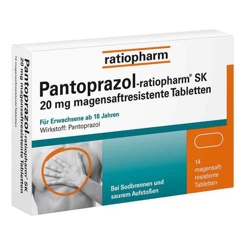 PZN 05520856 Tabletten magensaftresistent, 14 St