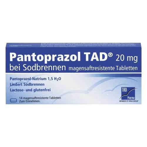 Pantoprazol TAD 20 mg b.Sodbrenn. magensaftresistent Tabletten - 1