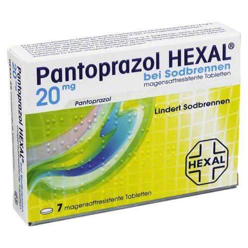 Pantoprazol Hexal b.Sodbrennen magensaftresistent Tabletten - 1