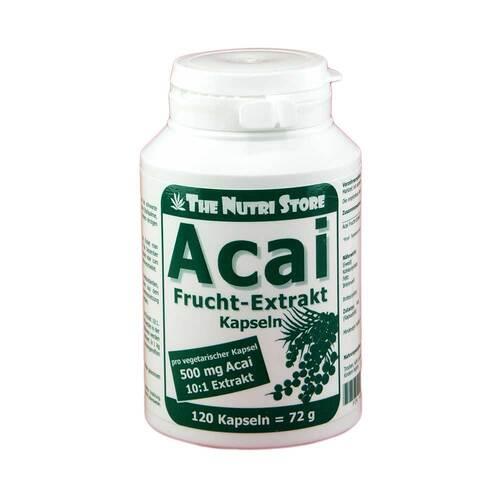 Acai Frucht Extrakt 500 mg vegetarische Kapseln - 1
