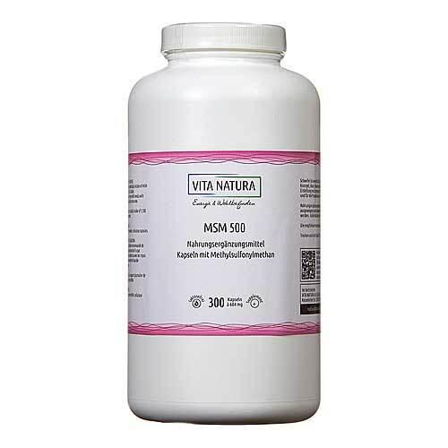 MSM Kapseln 500 mg - 1