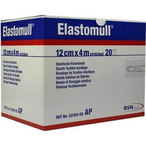 Elastomull 4mx12cm 2103 elastisch Fixierbinde - 1