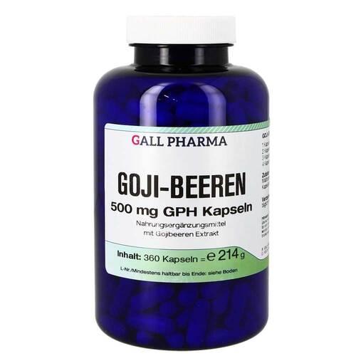Goji Beeren 500 mg GPH Kapseln - 1