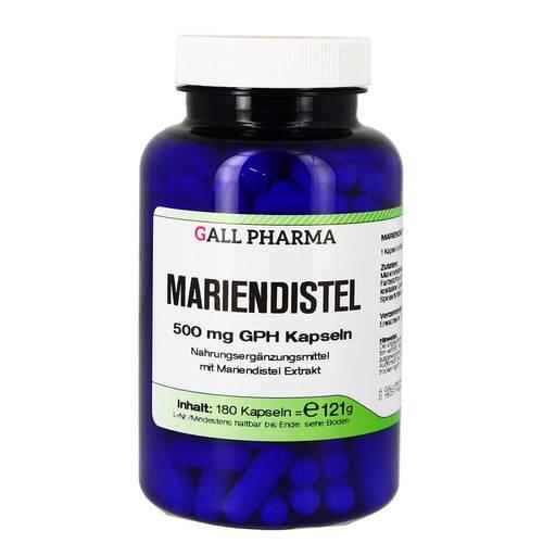 Mariendistel 500 mg GPH Kapseln - 1