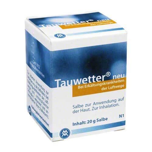 Tauwetter Salbe Neu - 1