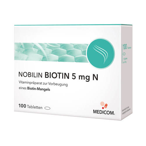 Nobilin Biotin 5 mg N Tabletten - 1