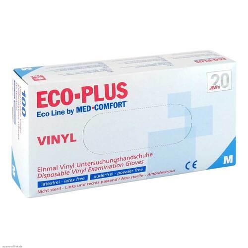 Vinyl Einweg-Handschuhe Ecoline Plus Größe M - 1