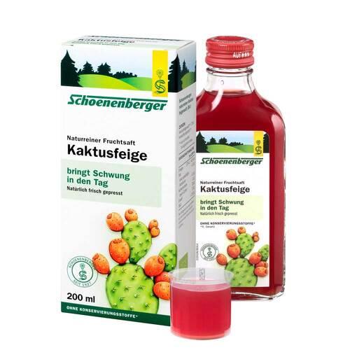 Kaktusfeige Saft bio Schoenenberger - 1