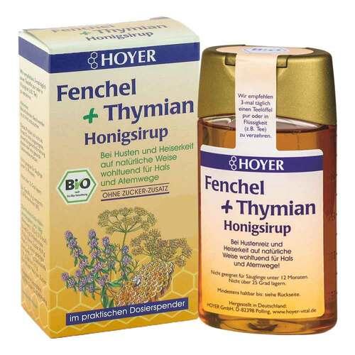 Hoyer Fenchel + Thymian Honigs - 1