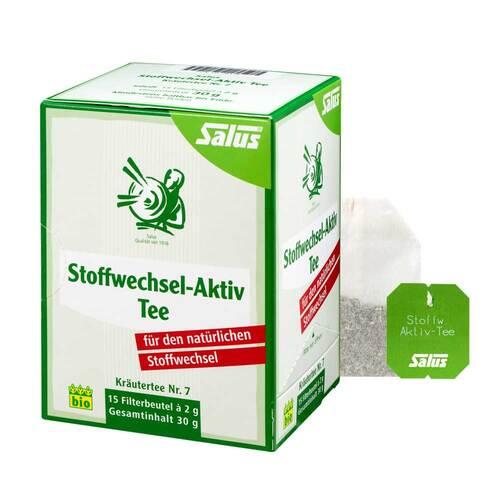 Stoffwechsel Aktiv Tee Kräutertee Nr.7 bio Salus - 1