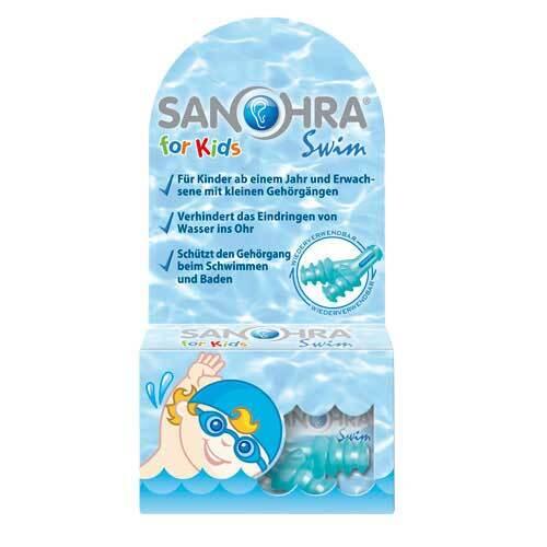 Sanohra swim für Kinder Ohrenschutz - 1