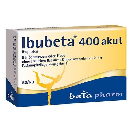 Ibubeta 400 akut Filmtabletten - 1